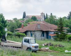 Rückblick auf Agia Paraskevi