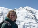 Selfie mit dem Mont Blanc