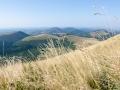 Blick auf die Vulkanlandschaft der Auvergne