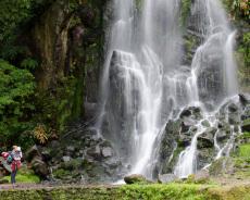 Achada Wasserfall
