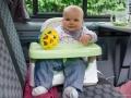 Lotta im Babymoov-Sitz