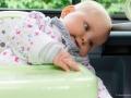 Sicherheit durch Babymoov-Sitz