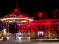 Rathaus und Pavillion