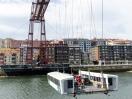 Hängebarke der Puente de Vizcaya