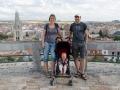 Familienfoto in Burgos