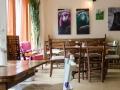 Tischgruppen im Café Grande in Soest