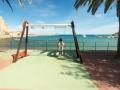 Schaukel mit Ausblick in Collioure