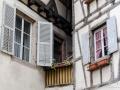 Fenster in Fachwerkhäusern
