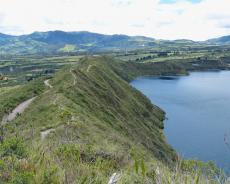 Südwestufer der Cuicocha-Lagune