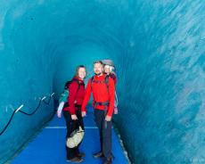 Gletscherhöhle im Mer de Glace