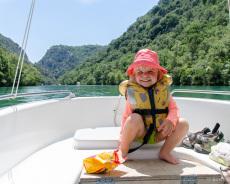 Bootsfahrt in der unteren Verdonschlucht