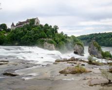Rheinfall in Schaffhausen, Schweiz