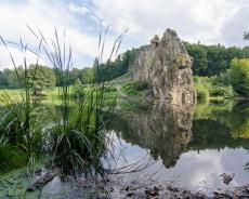 Teutoburger-Wald-Externsteine-Spiegelung