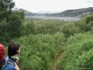 Ausblick auf das Tal der Krossá