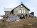 Fimmvörðuháls-Hütte