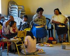 Abendessen beim Frauentag