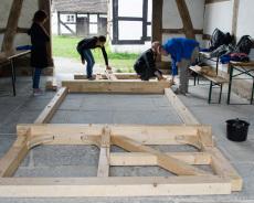 Fachwerkhaus-Bau 2