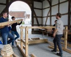 Fachwerkhaus-Bau 3
