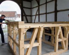 Fachwerkhaus-Bau 4