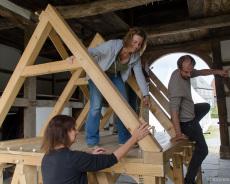 Fachwerkhaus-Bau 6