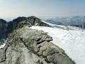Gipfelpanorama von der Snøhetta