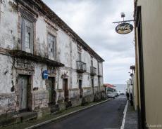 Alte Häuser in Ribeira Grande