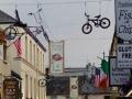 Hängende Fahrräder in Killarney
