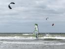 Wind- und Kitesurfer auf Rømø