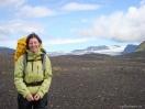 Nicole im isländischen Hochland