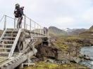 Brücke über die Nyrðri Emstruá