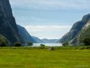 Fjordblick vom Lysebotn Camping