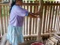 Maniok auswringen