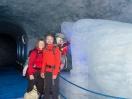 Eisskulptur in der Gletscherhöhle