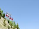 Gondeln hoch zur Montenvers-Aussichtsplattform