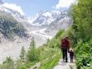 Wanderung zum Gletscher