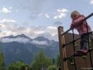Klettern auf dem Campingplatz
