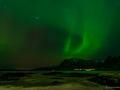 Nordlicht über Brenna