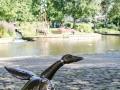 Skultpur Ente