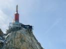 Spitze der Aiguille du Midi