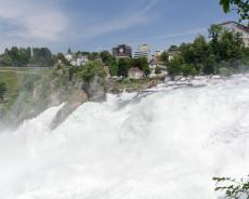 Wasserkraft des Rheinfall