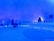 Schneehotel-Eisbar