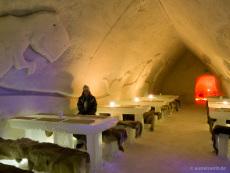 Schneehotel-Restaurant
