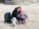 Nicole & Lotta am Strand