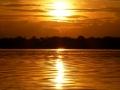 Sonnenuntergang über der Laguna Grande