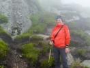 Nicole im Nebel