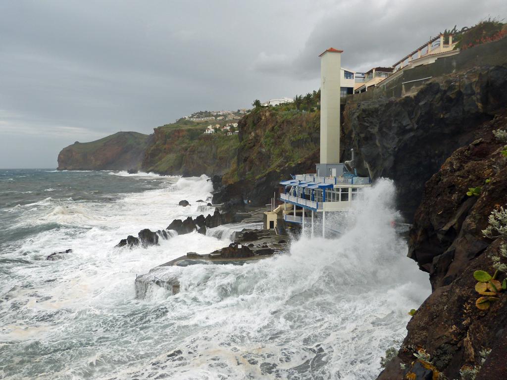 Unwetter Madeira