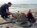 Sandburg bauen