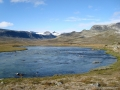 Veo mit Gletscherpanorama