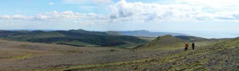 Panorama bei Vik in Südisland