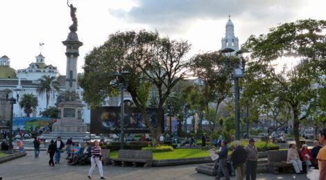 Quito: Plaza Grande